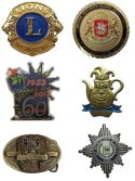 Badges Coins and Buckles