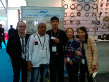 XTSKY customers meet in Shanghai Fair