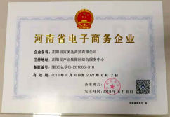 E-business company certificate