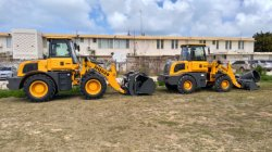 HQ928 and HQ918 wheel Loader worked at South America Market