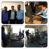 India customer visited our factory