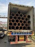 HOT TOLLED PIPES SHIPMENT