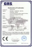 Screen Printer CE Certificate