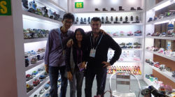 The Client Visit Greatshoe Booth in 112 Carton Fari From Russia