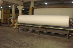 Rolling Machine for Polyester Nonwoven Geotextile