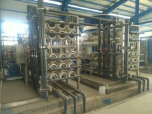 Brackish water desalination project in Iran