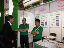 Attend an exhibition for Solar in Germany