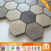 Living Room Wall Simple Style Hexagon Porcelain Mosaic