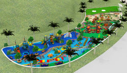 park outdoor playground & outdoor fitness