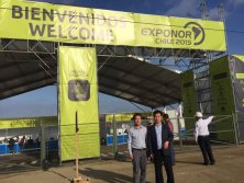 HANFA in Exponor Chile 2015 Exhibition
