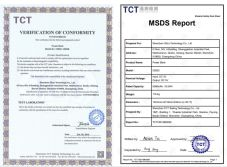 FCC+MSDS Report