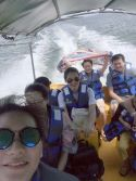 company team travelling in xunliao bay