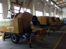 Topall Concrete Mixer with Pump
