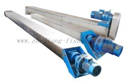screw conveyor used in fishmeal plant line