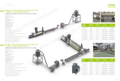Single stage strand cooling pelletizing line
