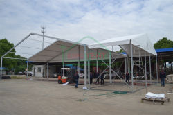 a-shape tent 18x30m with front 10x5m tent