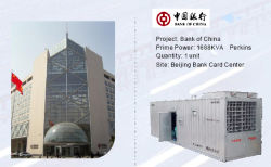 1875kVA Container Generators for Bank of China