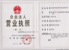 About the factory ′s business licenses certificate
