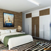 Modern Residential Project Solution--Bedroom