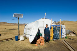Solar Refrigerators Freezers, Air Condition applied in Pastoral Area