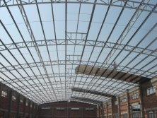 Simple Steel Roofing Warehouse Project