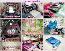 taihua silicone wristband production process