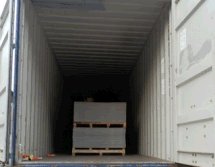 Loading on container