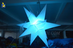 LED Light Changeable Color Inflatable Lighting Stars C2028
