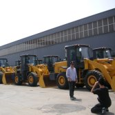 Customers Visiting-Wheel Loaders (Uruguay)