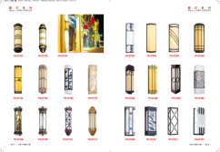 Product Catalogs WALL Lamp Series
