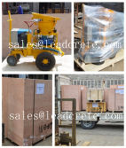Deliver gunite machine to Palestine customer