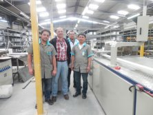 engineers in Brazil clints′ plant