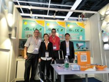 Customer visiting on booth 2017