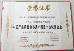 One of ten the best reputation company certificate