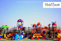 Colorfull outdoor playground equipment