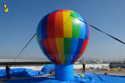 Advertising Inflatable Hot Air Shaped Balloon, Rooftop Air Balloon K2101