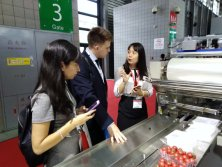 Introduce the machine to customers at Canton Fair