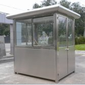 Mobile guard house