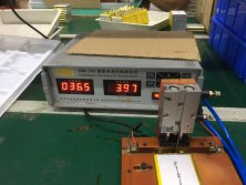 Battery internal resistance and voltage test