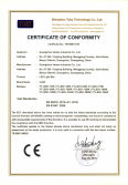 LED Light Bar G1 series CE Certificate