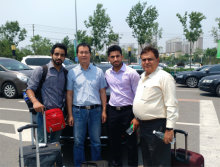 Indian customers visit our factory