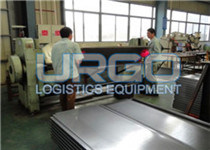 Racking steel panel production line