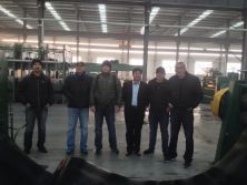 conveyor belt vulcanizer line