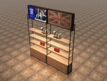 Display stand for shoes speciarity store