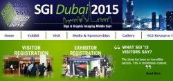 2015 SGI Graphic fair in Dubai