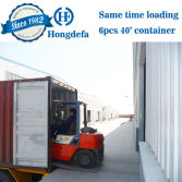 6pcs Container Same Time Loading