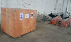 BW-600/10 hydraulic mud pump with plywood case package