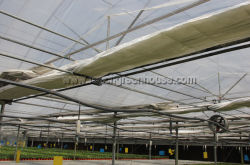 greenhouse inside shading system