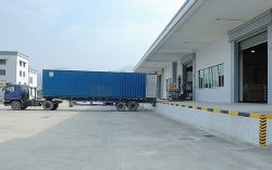 The condition of the cargo loading