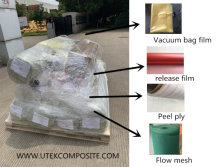 Raw materials for boat building with infusion process
